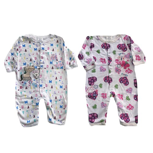 Pijama para niña sin pies