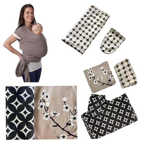 Porta Bebe Fular tela estampada