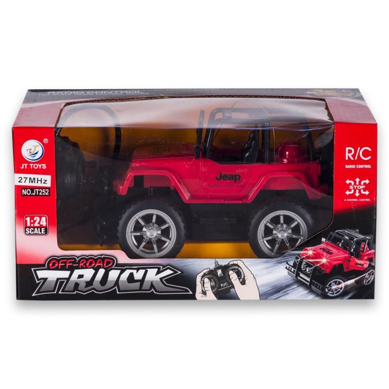 Carro Jeep A Control